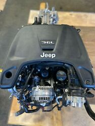 V6 Jeep 3.6l Engine And 8 Speed Automatic Transmission. Fits 2018-2020