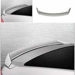 For Honda Accord 10th 18-2021 Abs Silver Mugen Car Rear Trunk Spoiler Wing Flap