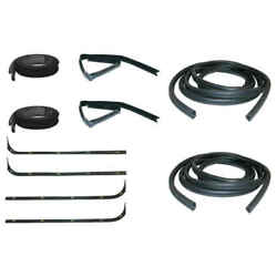 Sweep Belt And Glass Run Window Channel And Door Seal 10 Piece Kit 67-70 F100 Pickup