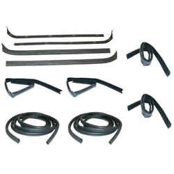 Sweep Belt And Glass Run Window Channel And Door Seal 10 Piece Kit 71-72 F100pickup