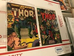 Journey Into Mystery Thor 122 Vg And 123 Vg Avengers 1 Lot