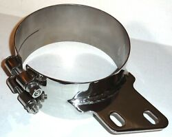 Up Exhaust Butt Joint Clamp For 7 Peterbilt Stack W/angle Stainless 10284 Each