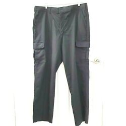 Nwt Red Kap Mens Size 40x32 Black Industrial 6-snap Pockets Cargo Work Pants