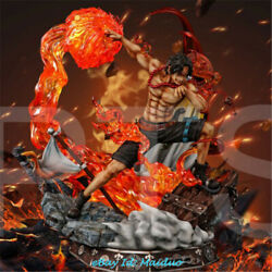 One Piece Portgas D Ace Statue Resin Model Collections Gk Pt Studio New 1/4 60cm