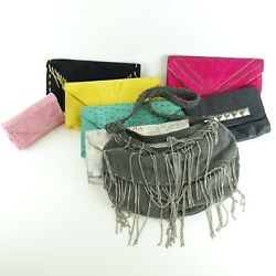 Beau Dunn JJ WINTERS Lot Of 7 Clutches 1 Bag All Used 8 Total $125.00