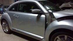 Passenger Right Front Door Manual Mirrors Hatch Silver Fits 12-19 Beetle 68886