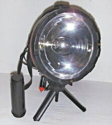 Sunspot Light,search Tripod Stand Or Handheld Holder,push On/off, Cig. Plug-in