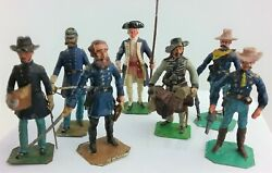 Hinton Hunt Civil War Frontiersman Officers General And Founding Father Vintage