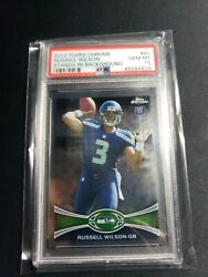 2012 Topps Chrome Russell Wilson Psa 10 Gem Mint Rc Rookie 40 Hot🔥ships Today