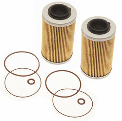 Sea Doo 4-tec Oil Filter And O-ring Kit Twin Pack All 130 155 185 215 255 260 Hp
