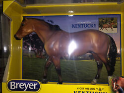 Breyer Traditional Horse - Kentucky 1820 Set With Rider And Saddle
