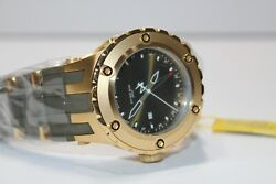 12039 Subaqua Reserve Gold/olive Gmt Watch