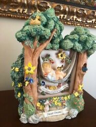 Hummel - Swaying Lullaby With Sweet Dreams Scape, Mint Condition- 2 Pieces