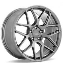 4 19 Staggered Ace Alloy Wheels Aff11 Space Gray Rimsb42