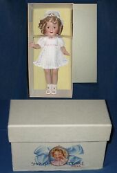 ❤replica 1930 Ideal Compo.shirley Temple 14 By Danbury Mint Doll To Porcelain