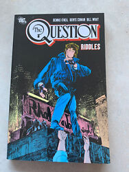 The Question Riddles Tpb Dc Comics Very Rare Oop Graphic Novel Htf Vol 5