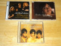 The Clark Sisters 3 Three Cd Lot Twinkie Clark Live One Last Time Miracle Home