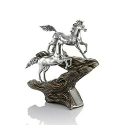 The Magnificent Collection Pewter The Quest To Victory Horse Figurine Gift