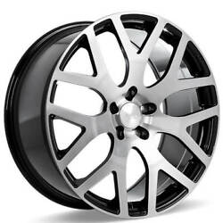 4 22 Ace Alloy Wheels Aff07 Gloss Black With Machined Face Rimsb43