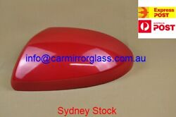 MIRROR HOUSE COVER CAP FOR MAZDA 3 2009 2013 Copper Red CODE:32V LEFT SIDE)