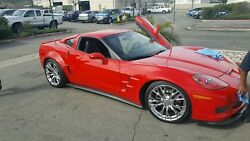 2005-13 Corvette Zr1 Super Widebody Front Fenders And Rear Quarters,,