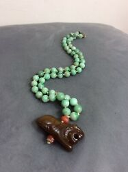 Antique Chinese Jade Beads