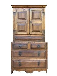 Lovely 18th Century Brazil Colonial Cupboard Armoire Cabinet