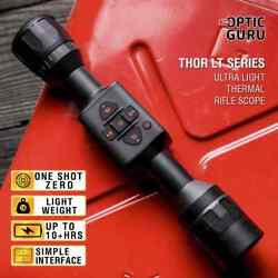 Atn Thor Lt 320 3-6x Thermal Rifle Scope 10+hrs Battery