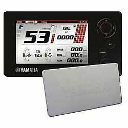 Yamaha Oem Command Link Plus Lcd Display With Cover - 6y9-83710-14-00