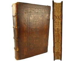 Fore-edge Painting.1596 Alonso Tostado Tostati Episcopi Abulensis...chronicles