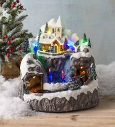 Lighted Musical Christmas Village With Train