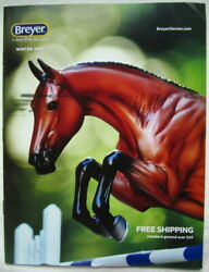 BREYER WINTER CATALOG 2019 OVER 50 COLOR PAGES VGC