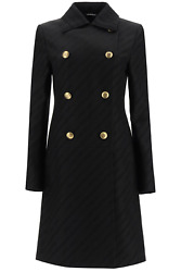New Givenchy Givenchy Chaandicircne Coat With 4g Buttons Bwc07512yf Black Authentic Nwt