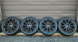4 Factory Audi A7 S7 20 Oem Wheels And New Tires Black Rims