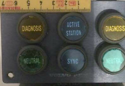 Volvo Penta Control Panel Plastic Parts With Included Letters