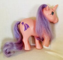 Vintage G1 My Little Pony Argentina Unicorn Top Toys Pink Purple Glory Rare