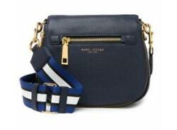 Marc Jacobs Small Nomad Leather Crossbody Black $91.99