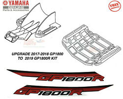 Yamaha Gp1800r Upgrade Kit For Red Gp1800 2019 Ride Plate And Intake Grate Graphic