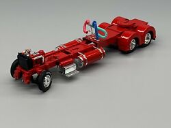 1/64 Dcp Parts Red 300 Peterbilt 359/379/389 Chassis W/ Show Fenders