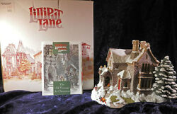 Lilliput Lane Retired The Old Vicarage At Christmas 1991 Mib