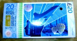 Bristol Pound - Transition Town Andpound10 First Issue Bundle Of 100 Notes 2012 Unc