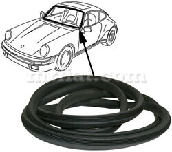 For Porsche 911/930 911/964 Front Windshield Seal Coupe Targa 1989-94 New