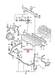 Genuine Audi Audi Ttrs Coupe Road. Intake Manifold - Lower Part 07k133202a