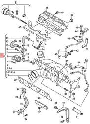 Genuine Vw Audi Beetle Cabrio Exhaust Manifold With Turbocharger 06j145713f