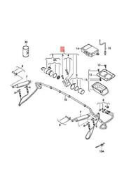 Genuine Audi Hydraulic Pump With Electric Motor And Oil Tank 8j7871791