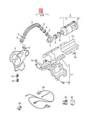 Genuine Vw Amarok Retrofit Kit And039air Supply For Toothed Belt Driveand039 2h0198131c