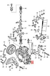 Genuine Vw Seat Caddy Derby Gol Country Parati 4p Injection Pump 028130115qx
