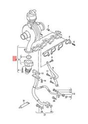 Genuine Vw Amarok Crafter 2ea Exhaust Manifold With Turbocharger 03l253014a