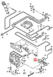 Genuine Cooler For Exhaust Gas Recuperation With Control Flap 03l131527ax