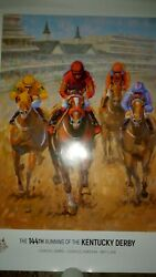 Kentucky Derby 144th Running May, 2018 Poster 18x24 Plus Small Photo